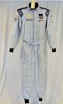 Sparco FIA Rated KVM Racing Chevy Race Used IndyCar Suit #6288 c40/w34/i30