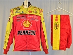 Kevin Harvick Shell Pennzoil SFI-5 Simpson NASCAR Racing Fire Suit #6295 c46/w36/i31