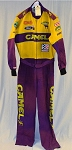 Vintage Jimmy Spencer Camel Smokin' Joe Race Used NASCAR Crew Firesuit #6297 V1
