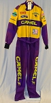 Vintage Jimmy Spencer Camel Smokin' Joe Race Used NASCAR Firesuit #6299 V3
