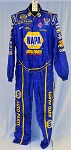 NAPA NASCAR Sparco SFI-5 AND FIA Rated Race Used Crew Fire suit. #6307 c48/w40/i31