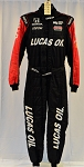 Robert Wickens Lucas Oil Sparco FIA Rated Race Used INDYCAR Pit Crew Fire Suit #6330 c42/w36/i31