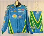 Aric Almirola Fresh From Florida Sparco SFI-5 NASCAR Fire Suit #6345 c46/w36/i33