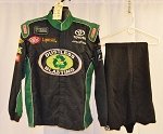 Dustless Blasting Simpson Monster NASCAR Fire Suit. SFI-1/SFI-5 #6348 c46/w36/i35