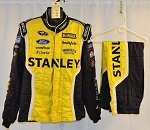 Marcos Ambrose Stanley Petty Sparco SFI-5 Race Used NASCAR Fire Suit #6355 c50/w38/i30