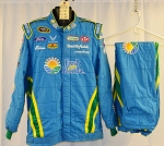 Aric Almirola Fresh From Florida Sparco SFI-5 NASCAR Fire Suit #6356 c48/w36/i35