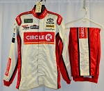 JGR Circle K Simpson SFI-1 SINGLE LAYER Race Used NASCAR Fire Suit #6379 c42/w36/i31