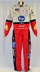2018 Bubba Wallace Kroger Race Used NASCAR DRIVER Racing Suit. ROOKIE YEAR. #6389 38/34/32