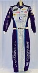 Bubba Wallace Cosmopolitan Vegas Race Used NASCAR ROOKIE YEAR DRIVER SUIT. #6390 38/34/32