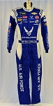 Bubba Wallace Air Force ROOKIE Year Race Used NASCAR DRIVER Fire Suit #6395 38/34/31