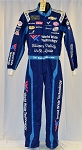 Bubba Wallace 2018 NASCAR ROOKIE YEAR World Wide Race Used DRIVER SUIT #6397 c38/w34/i32