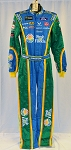 Aric Almirola Fresh From Florida Petty Sparco SFI-5 NASCAR DRIVER Fire Suit #6407 c36/w32/i34