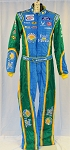 Aric Almirola Fresh From Florida Petty Sparco SFI-5 NASCAR DRIVER Fire Suit #6409 c36/w32/i33