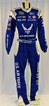 Aric Almirola 2016 Air Force Richard Petty Race Used NASCAR DRIVER Fire Suit #6420 c36/w32/i34