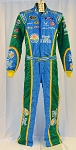Aric Almirola Petty Fresh From Florida Sparco Race Used NASCAR Fire Suit #6424 c36/w32/i34