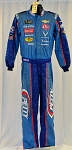 Bubba Wallace Richard Petty 43 Race Used Sparco SFI-5 NASCAR Crew Fire Suit #6439 c38/w30/i30