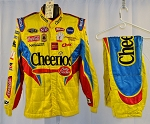 Cheerios Petty Racing Sparco SFI-5 Race Used NASCAR Pit Crew Suit #6459 c46/w34/i31
