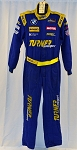 Turner Motorsport BMW IMSA Race Used Sparco FIA rated Fire Suit #6470 c40/w34/i31