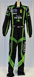 Johannes Van Overbeek Patron Racing IMSA Sparco FIA AND SFI-5 Rated DRIVER SUIT. #6487 c38/w30/i38