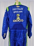 Geico Race Used Sparco SFI-5 NASCAR Cup Crew Fire Suit #6489 c50/w40/i35