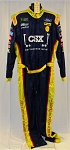 CSX Simpson SFI-5 NASCAR Monster Energy Race Used Pit Crew Fire Suit #6507 c52/w42/i34