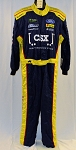CSX Simpson SFI-5 NASCAR Monster Energy Race Used Pit Crew Fire Suit #6509 c52/w40/i31