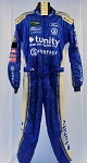 Tunity Front Row Motorsports Impact SFI-5 NASCAR Monster Pit Crew Fire Suit #6513 c50/w38/i31