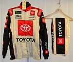 Toyota Simpson SFI-5 NASCAR Monster Energy Race Used Crew Fire Suit #6536 c46/w34/i31