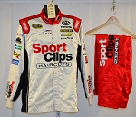 Sports Clips Joe Gibbs Racing Simpson SFI-5 NASCAR Pit Crew Fire Suit #6538 c44/w34/i32