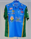 Almirola Petty Fresh from Florida not race used NASCAR Pit Crew Shirt V1
