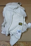 NOMEX Balaclava. Used White. Single Hole. SFI or FIA rated. Top brands