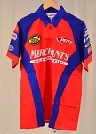 Vintage Kyle Petty Merchant's NOT Race Used NASCAR Pit Crew Shirt