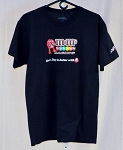 Kyle Busch M&Ms Race Used Team Issued NASCAR T-shirt. SIZE MEDIUM