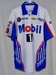 Kevin Harvick Mobil 1 Stewart-Haas NASCAR Pit Crew Shirt. NEW! SIZE LARGE