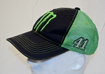 Kurt Busch Monster Energy Race Used Team Issued NASCAR Hat.