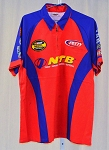 Vintage Kyle Petty NTB Race Used New?? NASCAR Pit Crew Shirt. SIZE LARGE