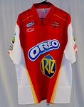 Kevin Harvick Inc. Oreos Ritz not RACE Used NASCAR Pit Crew Shirt. SIZE XL