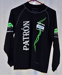 Patron Sparco Black NOMEX Top FIA Rated. Worn by IMSA Driver Johannes Van Overbeek! SIZE M/L