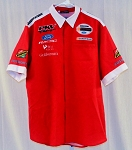 PKV Racing Indy Champ Car Cosworth Race Used Pit Crew Shirt. SIZE XL