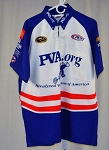 Vintage Kyle Petty PVA Paralyzed Vets Race Used NASCAR Pit Crew Shirt