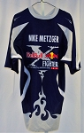Mike Metzger Red Bull Fighters 2004 Madrid Motocross Freestyle Shirt. SIZE XL