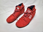 OMP Sport Red Race Used SFI Racing Shoes. SIZE 10.5