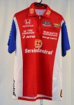 Graham Rahal Service Central Ganassi Izod INDYCAR Race Used Crew Shirt. SIZE M