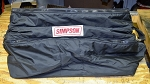 Large Simpson Race Used Racer's Gear Bag from Mike Bliss