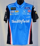 Bubba Wallace Aric Almirola NASCAR Monster Pit Crew Shirt NEW!