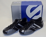 Sparco Black/Gray Driver Racing Shoes. NEW! Sample? Size 6