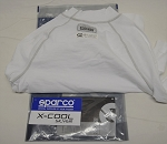 Sparco SFI NOMEX Long Sleeve TOP. X-Cool. White RW-9. New in Package! SIZE 2XL