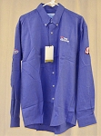 Vintage Kyle Petty Tire Kingdom Team Issued NASCAR Dress Shirt. NEW. SIZE LARGE