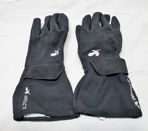 Impact Racing SFI Rated Driving Gloves-SIZE XL Used.