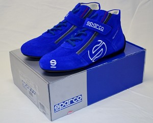 Sparco Racing Shoes from Casey Mears! BRAND NEW. SIZE 40 EUR, SIZE 7.5 US FIA and SFI Rated